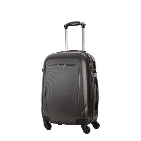 Platinium Grey Bedford Spinner Cabin Suitcase 50cm