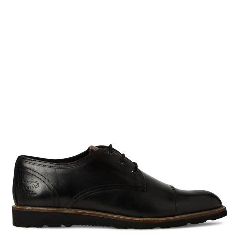 Original Penguin Black Leather Croydon Shoe
