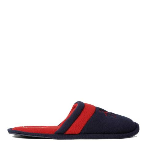 Original Penguin Navy And Burgundy Relax Slippers