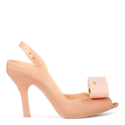 Vivienne Westwood for Melissa Nude Lady Dragon Bow Heels