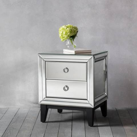Gallery Aster Two Drawer Side Table