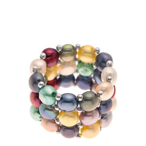 Manufacture Royale Multicolour Pearl Ring