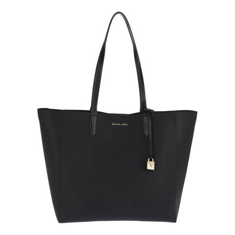 Michael Kors Black Penny Leather Tote