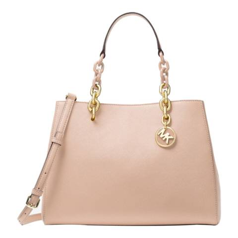 Michael Kors Soft Pink Cynthia Leather Bag