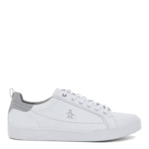 Original Penguin White Pillo Trainers