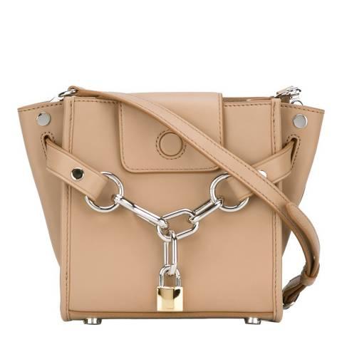 Alexander Wang Beige Mini Attica Chain Leather Bag