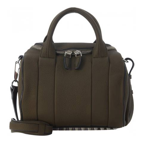 Alexander Wang Green Rockie Leather Bag