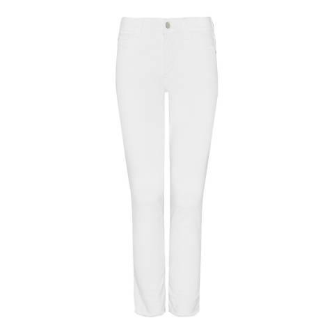 NYDJ White Alina Ankle Jeans