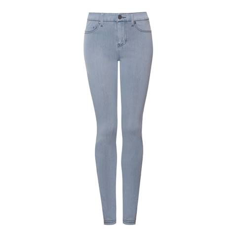 NYDJ Light Blue Briana Skinny Cotton Stretch Jeans