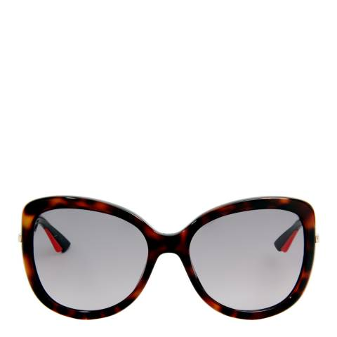 Christian Dior Women's Havana / Brown Gradient Sunglasses 60mm