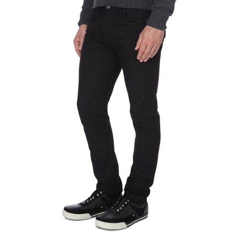 J Brand Black Mick Skinny Fit Stretch Jeans