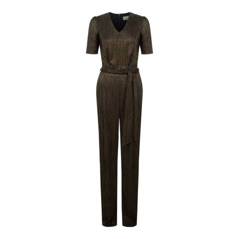 Damsel In A Dress Black Multi Lutza Jumpsuit