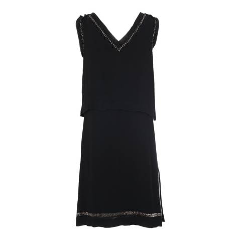 French Connection Black La Boheme Tunic Dress