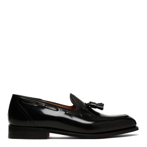Church's Black Leather Kingsley II Tassel Loafers