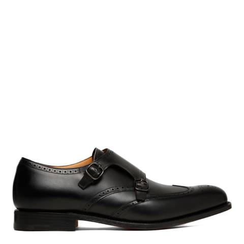 Church's Black Leather Chicago Double Monkstrap Brogues