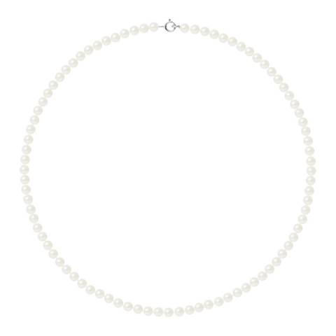 Mitzuko White Pearl Necklace