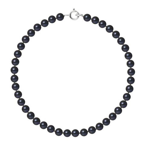 Mitzuko White Gold Black Pearl Bracelet