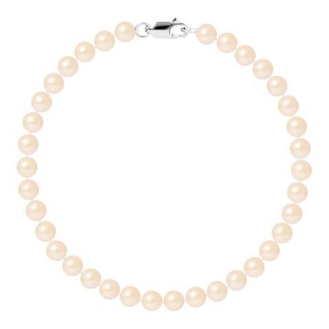 Mitzuko Pink Pearl Silver Bracelet