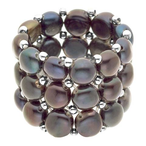Mitzuko Black Pearl Ring