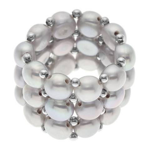 Mitzuko Grey Pearl Ring