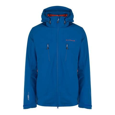 Dare2B Men's Oxford Blue RenitenceI Waterproof Shell Jacket