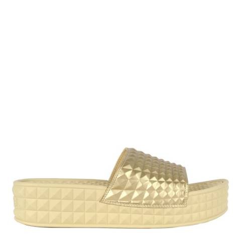 ASH Gold Studded Scream Slides