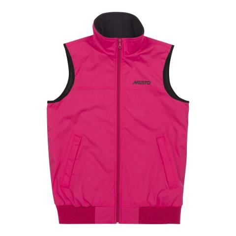 Musto Women's Pink snug Gilet