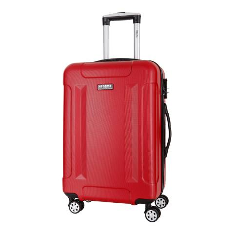 Renoma Red Spinner Isaac Suitcase 66cm