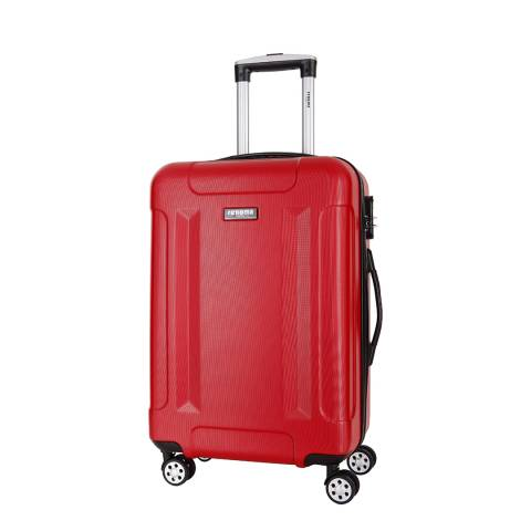 Renoma Red Spinner Isaac Suitcase 56cm