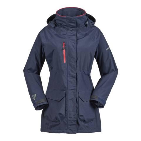 Musto Women's Navy Corsica Br1 Long Jacket