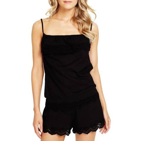 Elizabeth Hurley Beach Violetta Camisole Black