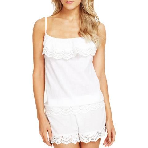 Elizabeth Hurley Beach Violetta Camisole White