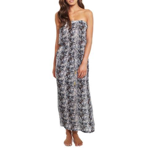Elizabeth Hurley Beach Python Dress Python