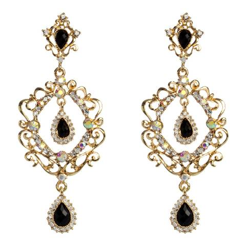 Amrita Singh Gunmetal Aurora Evening Earrings