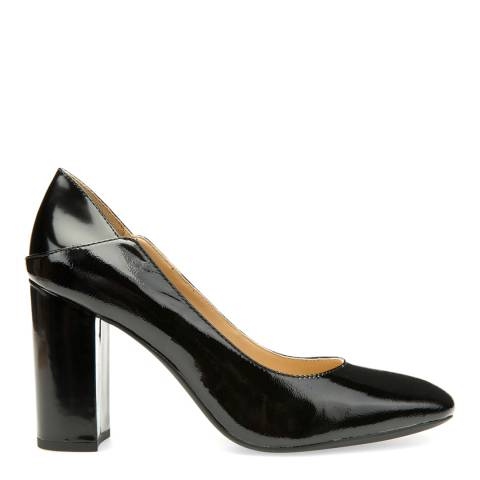 Geox Ladies Black Patent Leather Symphony High Heels
