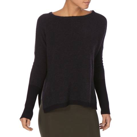 Charli Midnight Blue Yasmin Wool Blend Jumper