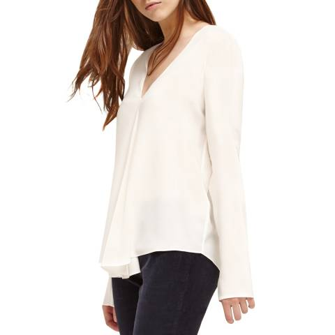 Charli Chalk Marissa Silk Top