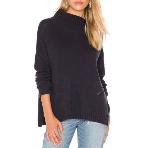 Charli Carbon Roxanne Polo Neck Jumper