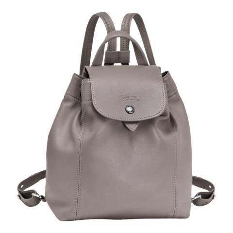 Longchamp Pebble Le Pliage Leather Backpack
