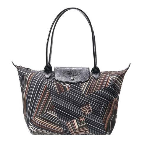 Longchamp Khaki Small Op'Art Bag
