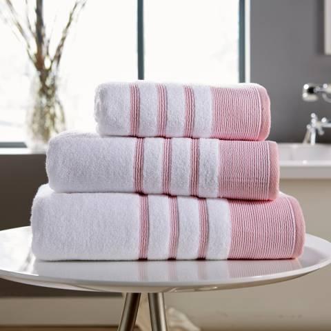 Behrens Pintuck Bath Sheet, Pink