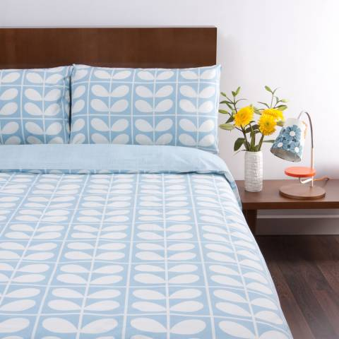 Orla Kiely Sky Stem Grid Double Duvet Cover