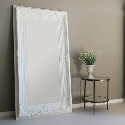 Gallery Vintage Cream Westminster Mirror 180x99cm