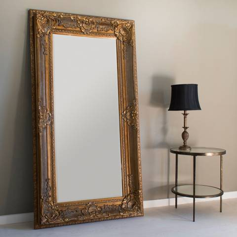 Gallery Gold Westminster Mirror 180x99cm