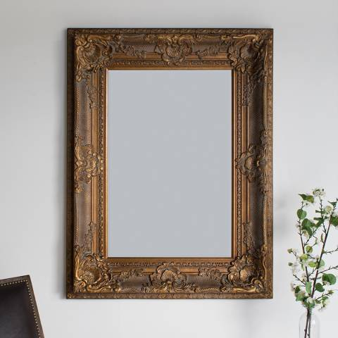 Gallery Gold Westminster Mirror 129.5 x 99cm