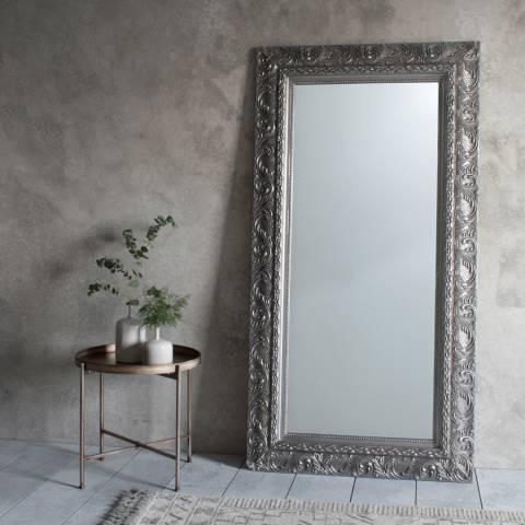 Gallery Silver Versaille Leaner Mirror 180 x 94cm