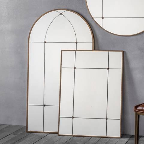 Gallery Bronze Ariah Arch Wall Mirror 140x76cm