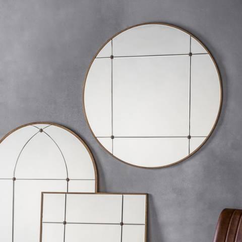 Gallery Ariah Round Mirror 90cm