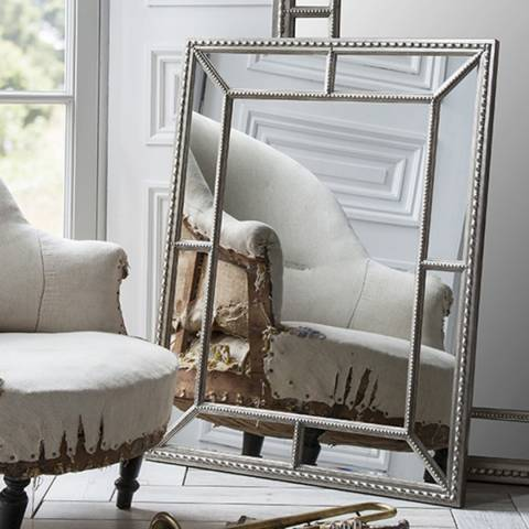 Gallery Pewter Lawson Mirror 78x98cm