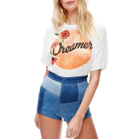 Free People Ivory Dreamer T Shirt